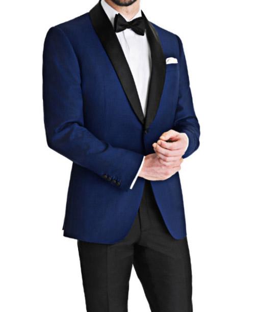 Mens Royal Blue Tuxedo