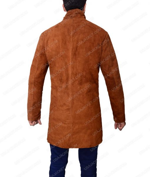 Robert Taylor Longmire Leather Coat