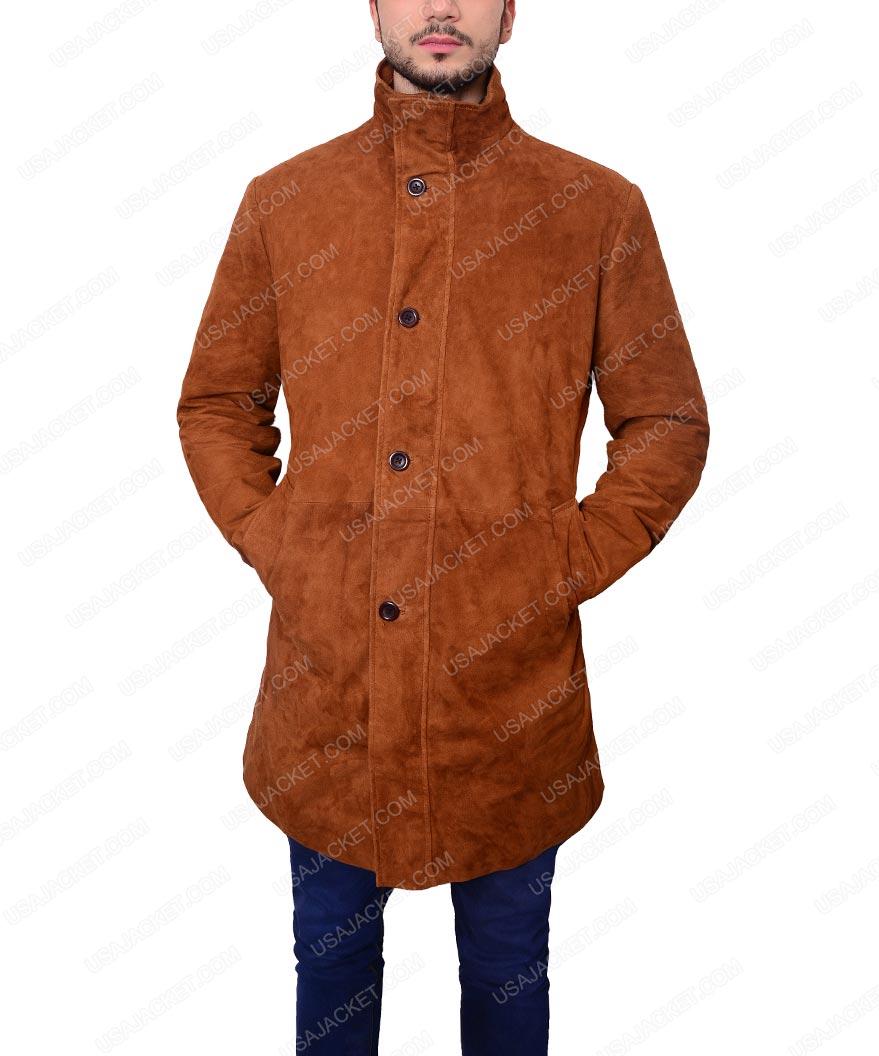 a7abfbb94 Longmire Sheriff Walt Suede Coat