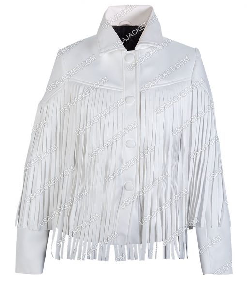 Sloane Peterson Fringe Jacket