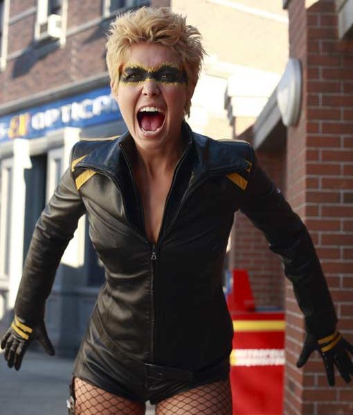 Black Canary Smallville Leather Jacket