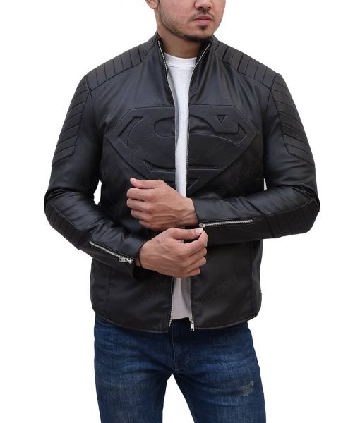Kent Black Leather Jacket