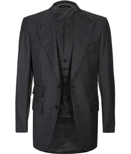 James Bond Spectre Herringbone Suit