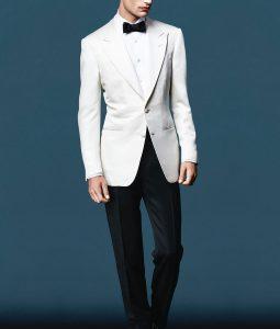 James Bond Spectre Daniel Craig Ivory Tuxedo
