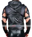 Stephen Amell Green Arrow Hooded Leather Vest