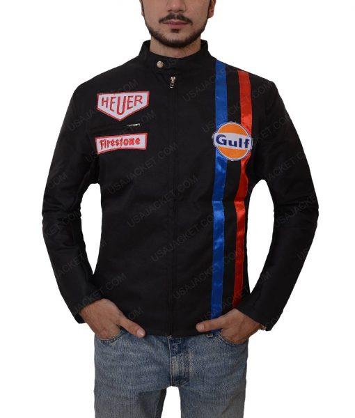 Steve McQueen Le Mans Black Jacket