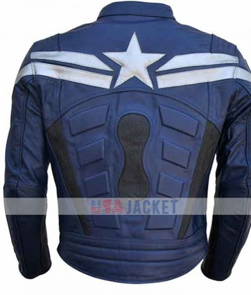 Then Winter Soldier Steve Roger Jacket