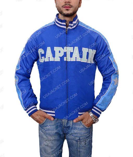 Suicide Squad Blue Bomber Jacket