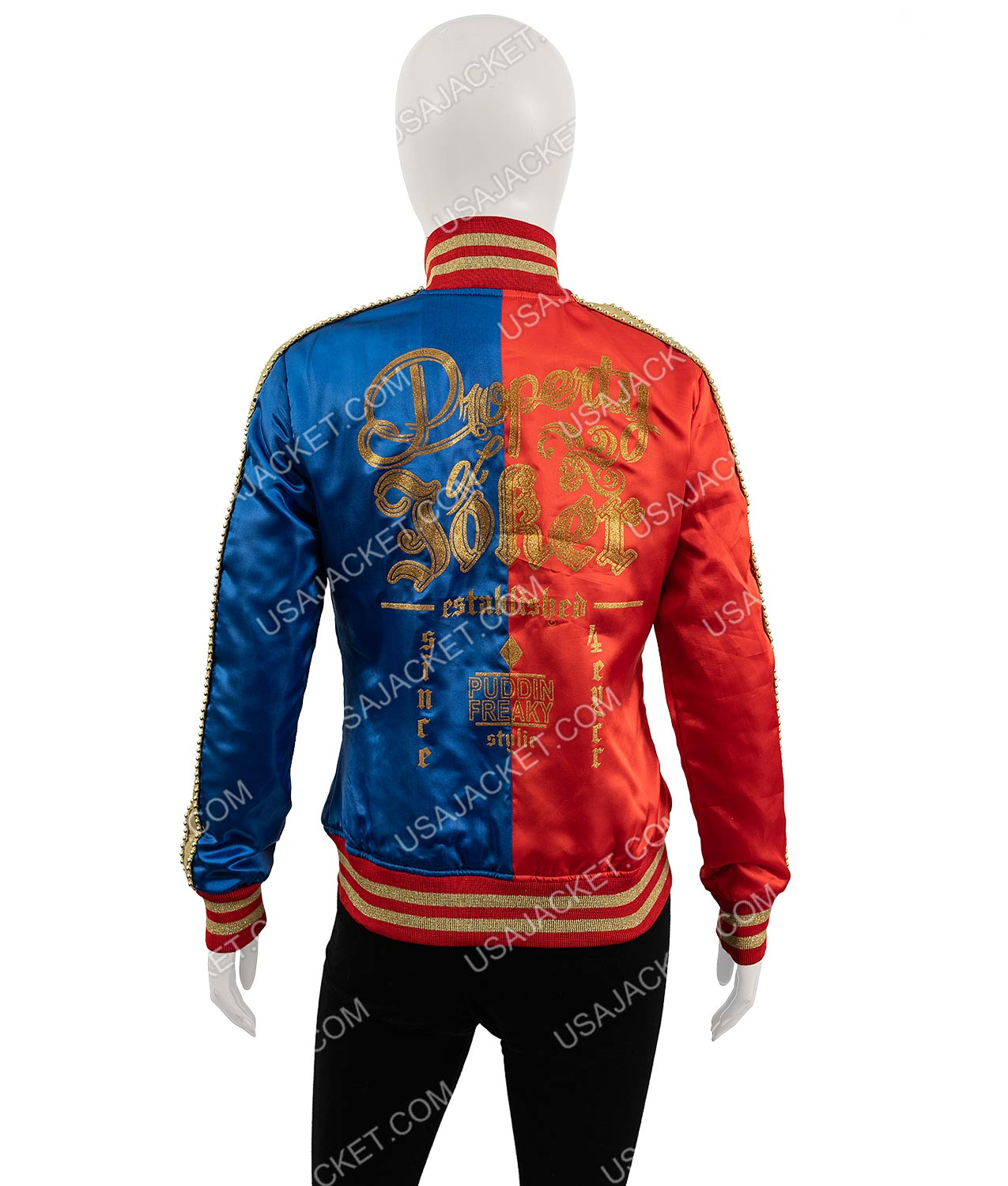 Harley Quinn Suicide Squad Jacket Of Margot Robbie. $69 Only