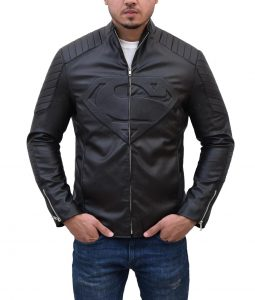 Smallville Clark Kent Black Leather Jacket