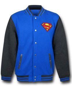 Superman Letterman Jacket