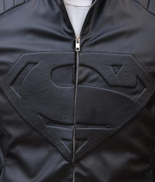 Superman Smallville Clark Kent Leather Jacket