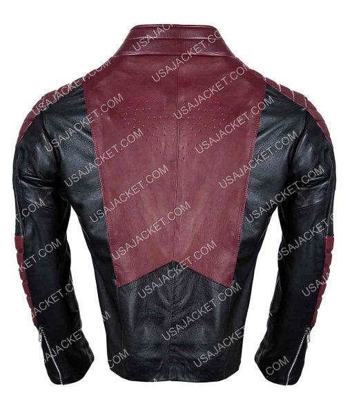 Smallville Black And Maroon Jacket