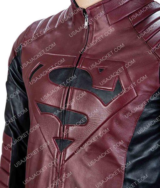 Superman Smallville Leather Jacket