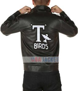 T-Birds Bikers Leather Jacket