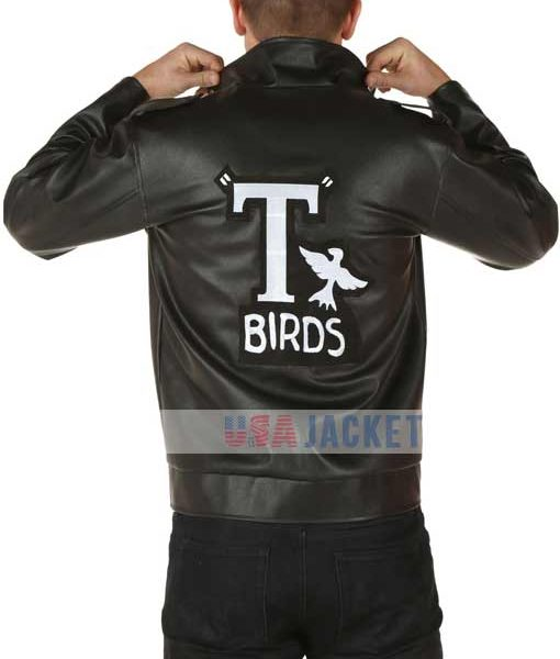 grease john travolta t birds jacket. Black Bedroom Furniture Sets. Home Design Ideas
