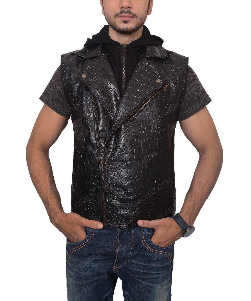 Aj Style Jacket Tna Black Leather