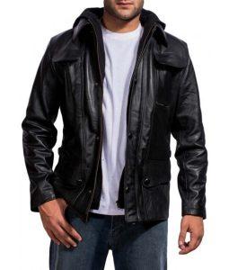 Terminator Genisys 5 Arnold Black Jacket