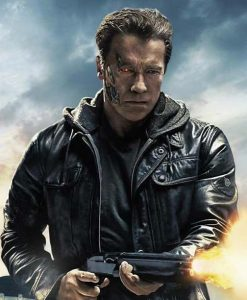 Terminator Genisys Arnold Schwarzenegger Jacket