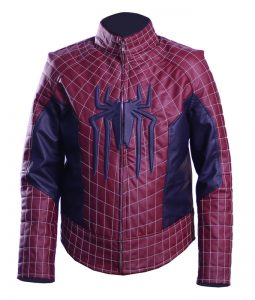 The Amazing Spiderman Peter Parker Leather Jacket
