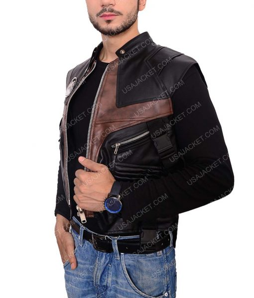Hawkeye Jeremy Renner Leather Vest