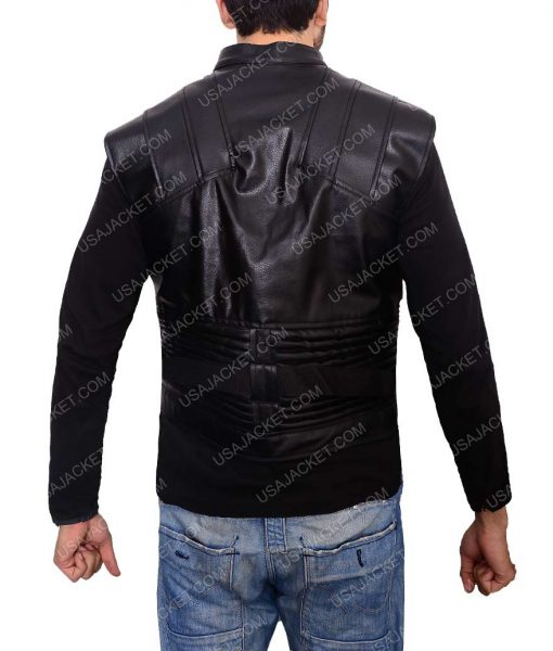 The Avengers Hawkeye Jeremy Renner Leather Vest
