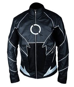 The Flash Zoom Leather Jacket