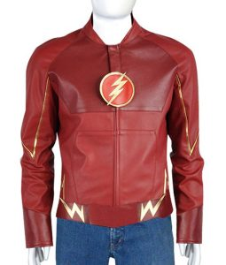 The Flash Barry Allen Costume Leather Jacket