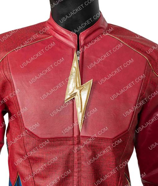 The Flash Real Jay Garrick Leather Jacket
