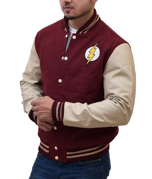 The Flash Varsity Jacket