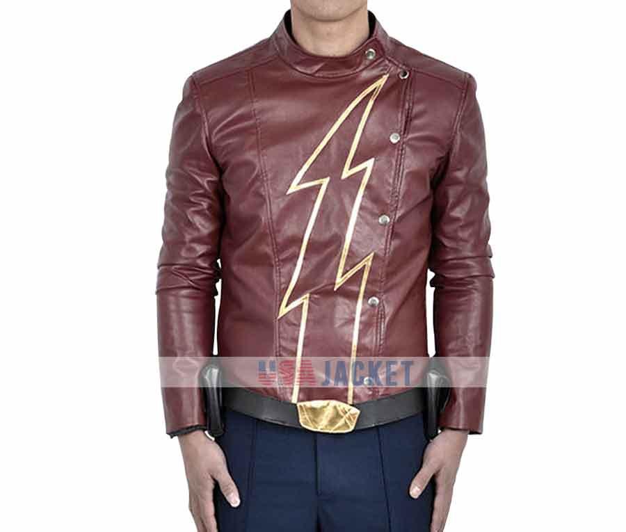 the flash tv series brown speedsters jay garrick jacket