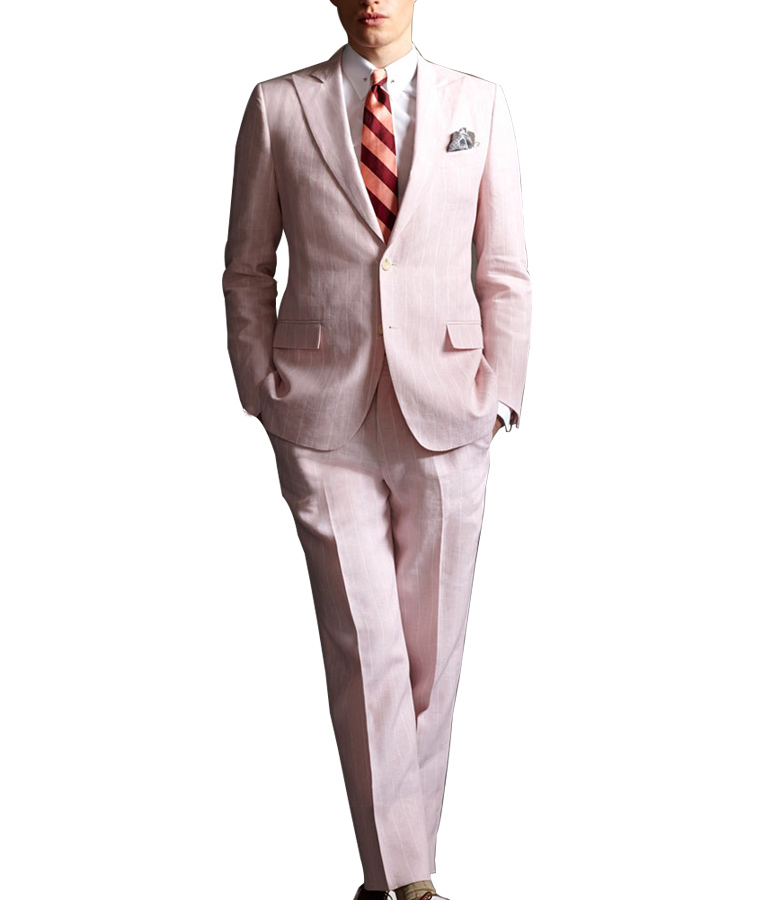 The Great Gatsby Pink Suit Of Leonardo DiCaprio
