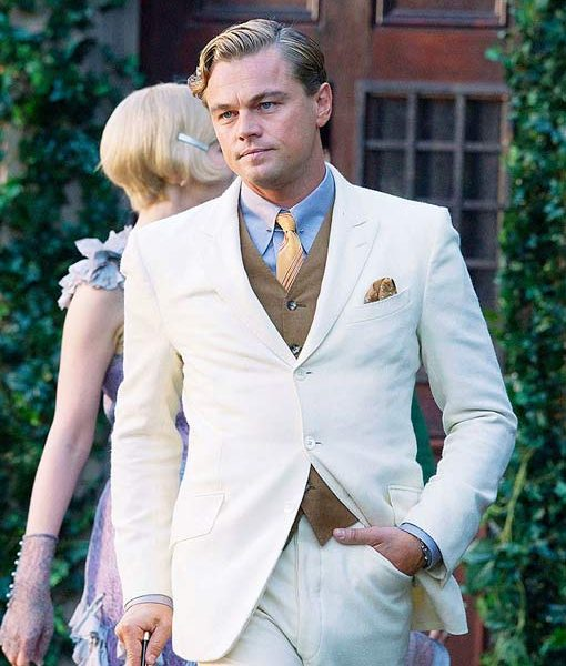 The Great Gatsby Leonardo Dicaprio Suit