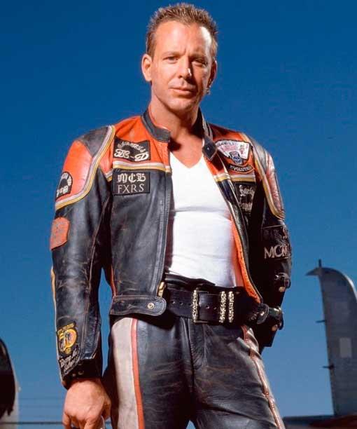 Harley Marlboro man Lederjacke,Orginal