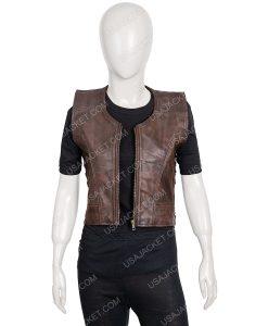 TWD Michonne Leather Vest