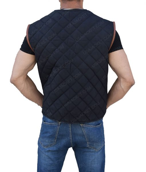Governor David Morrissey The Walking Dead Quilted Vest