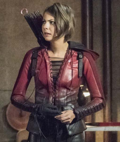 Thea Queen Speedy Red Jacket Arrow