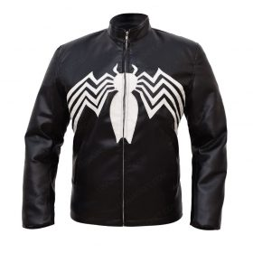 Tom Hardy Eddie Brock Venom Slimfit Leather Jacket