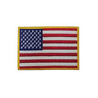 Top Gun American Flag Patch