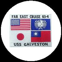 Top Gun CLG 31963 Far East Cruise Patch