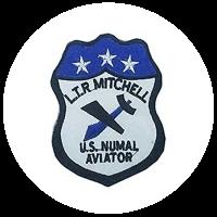 Top Gun LT.P MITCHELL US NAVAL AVIATOR Patch