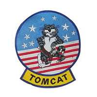 Top Gun Tom Cat Patch