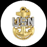 Top Gun USN Pin