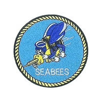 Top Gun USN Seabees Patch