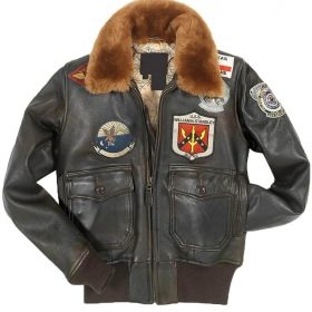 Tom Cruise patches Jacket