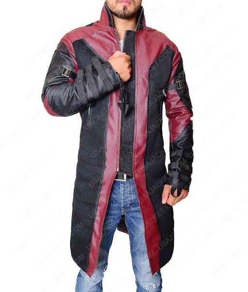 Jeremy Renner coat