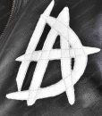 WWE Dean Ambrose 'DA' Logo Leather Jacket