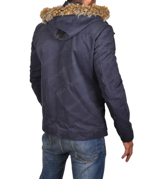 Captain Cold Fur Hooded Coat