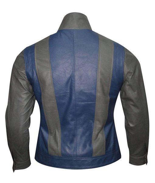 tye sheridan Leather jacket
