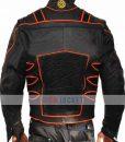 X-Men Wolverine Hugh Jackman Motorcycle Leather Jacket